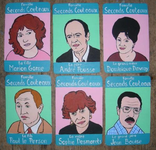 Peinture sur bois,Laurent Jacquy,portraits,100 familles,illustration,portraits de célébrité,Acrylique sur bois,humour,art singulier,art insolite,art naÏf,french outsider