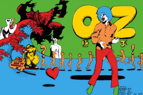 Martin sharp, Oz magazine,cream,graphisme,illustrateur,illustration,underground,musique,psychedelisme,mort d'homme