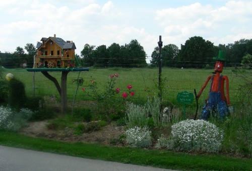 sculpture, Somme, Picardie, art brut