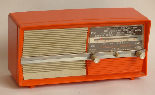 Radio,transistor,optalix,brocante,collection,france Inter