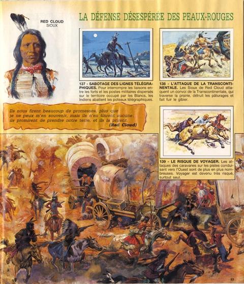 Album Paninini,images, farwest, cowboys,indiens,rouge et or,collecteur d'images
