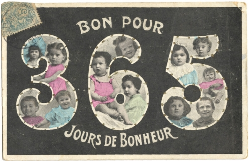 voeux,cartes postales,collection,brocante