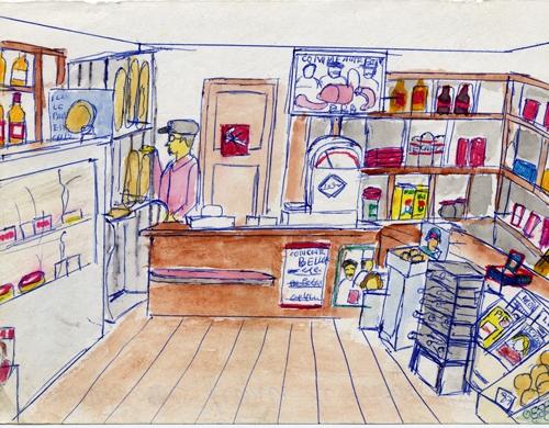 Roger Bichat,art singulier,art brut,art populaire,dessin,illustration