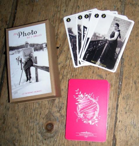 Les instantanés ordinaires,Sylvie Meunier,photo,photo amateur,photo anonyme,jeu de 7 familles