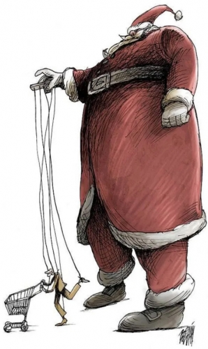 Angel Boligán Corbo,illustration, noël,