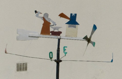 girouettes,art singulier,art populaire,art modeste,art insolite,vent,weathervane,gironde