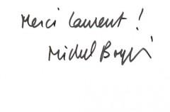 Michel Boujut, radio, Tardi, Carte postale