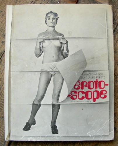 Erotoscope, érotisme, édition, livre à système, photos, brocante