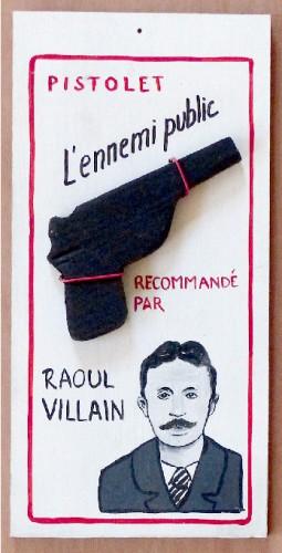 raoul villain,Jean Jaurès,peinture,laurent jacquy,ennemi public,pistolet