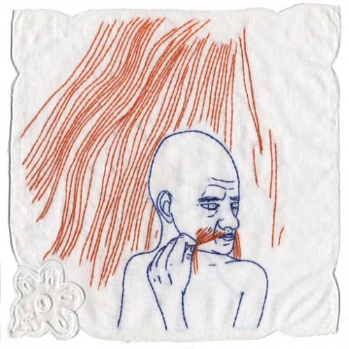 Isabelle boinot,art singulier,broderie,illustration,dessin,peinture,photo,fils et aiguilles,édition