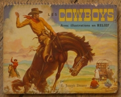 cowboy,livre,illustration pop-up,E. Joseph Dreany,édition