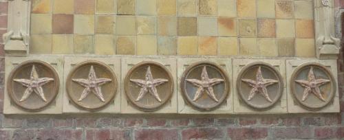 céramique,faïence,greber,ault,somme,picardie,plaque de villa,philatélie