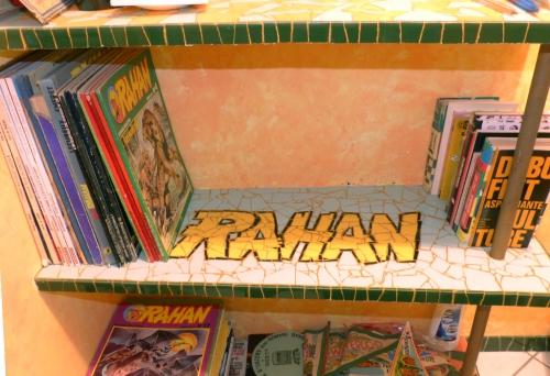 Rahan,andré Chéret,Pierre Lecureux,bande dessinée,illustration,graphisme,Pif gadget