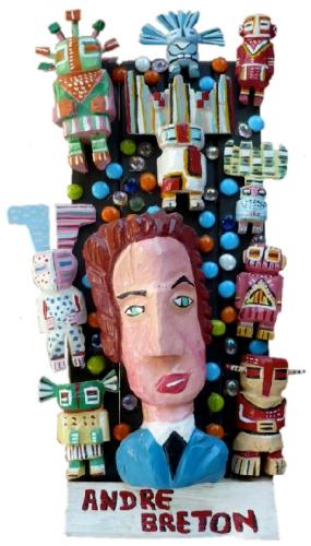 yann paris,sculpture,art singulier,art brut,art modeste