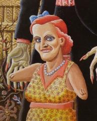 Joe Coleman,dessin,illustration,art singulier,art modeste,graphzine,The mystery of woolverine woo-bait,livre,édition