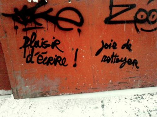 photo du dimanche,graffiti,dans la rue