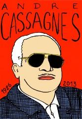 André Cassagnes,Télécran,ardoise magique,jouet,jeu,dessin assisté,dessin Laurent Jacquy,Mort d'homme