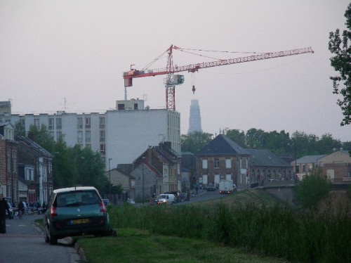 Amiens, Tour Perret, Photo L.jacquy