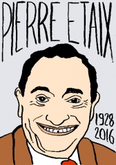 Pierre Étaix, dessin, portrait, laurent Jacquy
