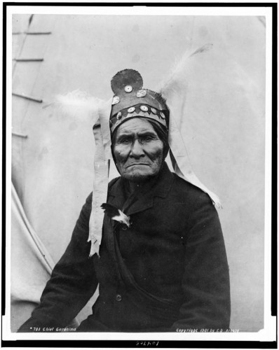 geronimo, photo, indiens