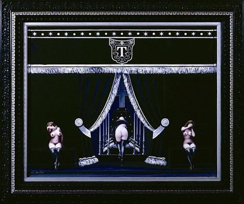 Clovis Trouille, Mes funérailles, surréalisme,erotisme