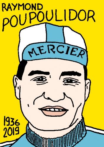 Poulidor,tour de france,art singulier,art brut,sculpture,Yann Paris? dessin,Laurent Jacquy; Mort d'homme