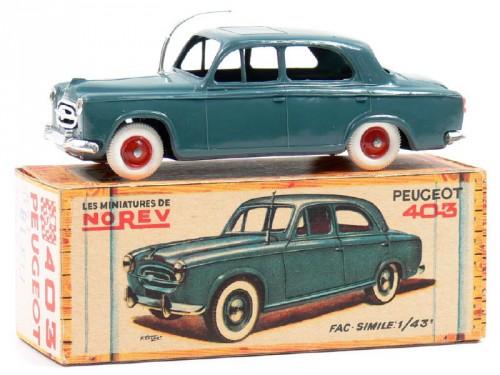 émile véron,jeu,jouet,403 peugeot,voitures miniature,Norev,majorette