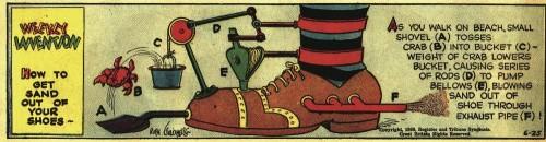 Machines de Rube Godberg,illustrateur,illustration,invention,création,effet domino,réaction en chaîne.