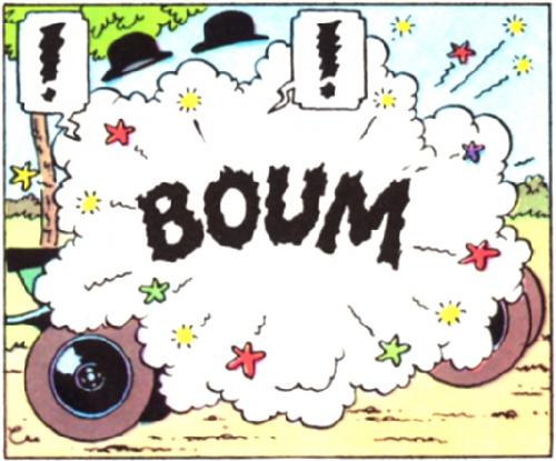 tintin,BD,bande dessinée,Hergé,humour,boum