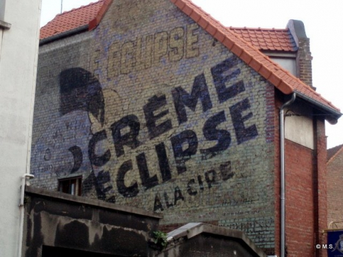 crème éclipse,publicité,réclame,cartes postales anciennes,collection,cirage,édouard bernard