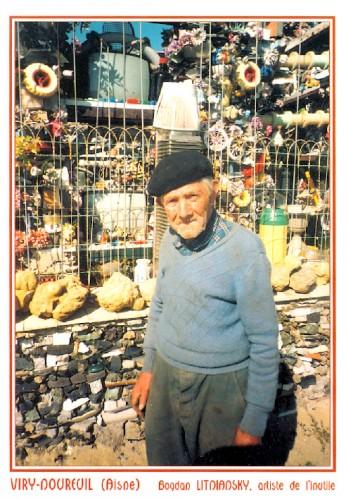 Bodan Litnianski,carte postale, art brut,art insolite,architecte,bâtisseur,art immédiat,Jarvis Cocker