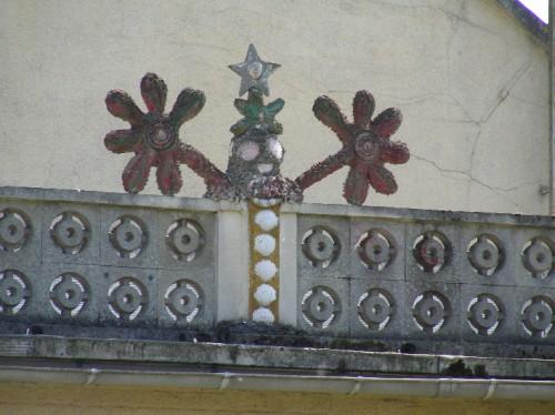 art singulier, architecture, Castel (Somme), création spontanée, somme, Picardie, sculpture, naï, photo. L. Jacquyf