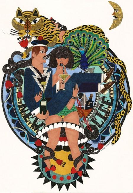 Camille Lavaud, Artsfactory,dessin,peinture,art singulier,art naif