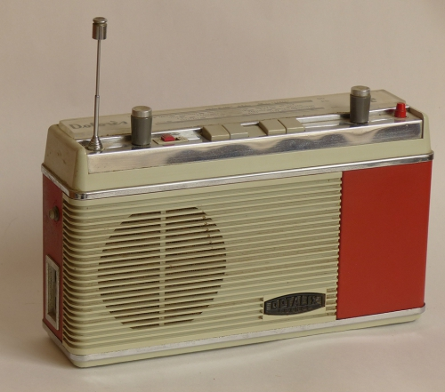 Radio,transistor,optalix,brocante,collection,frnace Inter