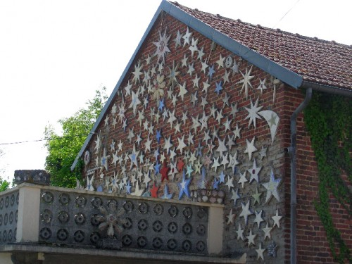 art singulier, architecture, Castel (Somme), création spontanée, somme, Picardie, sculpture, naïf
