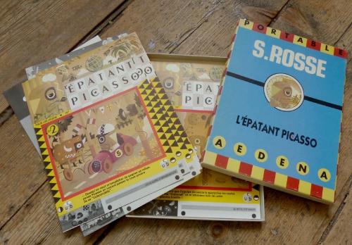 stéphane Rosse, l'épatant picasso, benito,aedana,illustration,graphisme,édition,humour