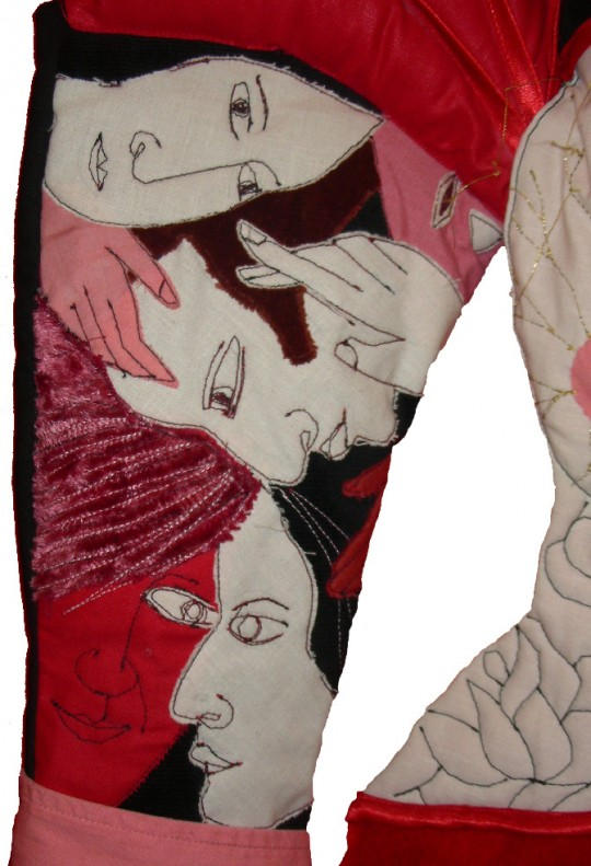 Emmanuelle Houdart,illustration,graphisme,édition,garde-robe,Laetitia Carré,fils et aiguilles,couture,moleton,photo Laurent Jacquy,Centre André François