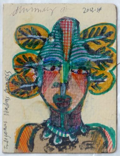 modestes et hardis,yann paris,laurent jacquy,art modeste,art brut,art singulier,collection,peinture,sculpture