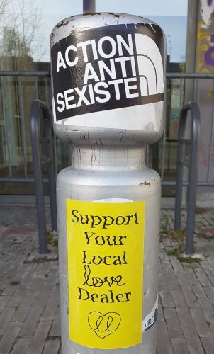stickers,autocollants,lutte,Amiens,