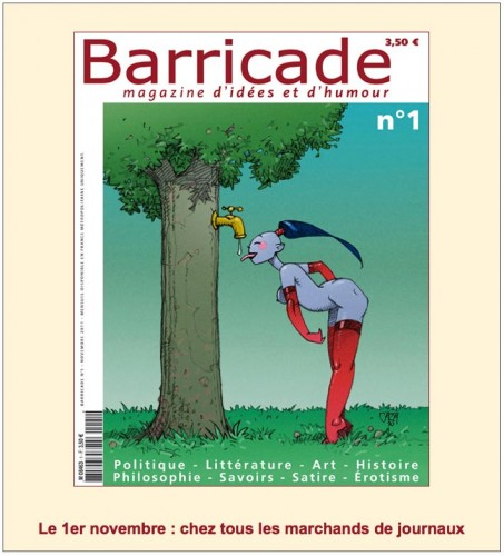 Presse, revue Barricade, Yves Frémion, dessin, illustration