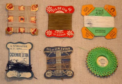 fils et aiguilles,brocante,collection,publicité ancienne,carte à fil,graphisme