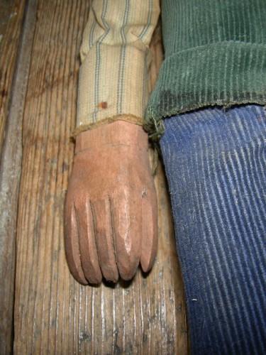 marionnette picarde, art populaire, sculpture bois