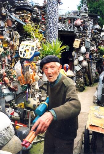 Amiens, Somme, Picardie, Art populaire, art modeste, Art singulier, Bodan Litnianski, Récupération,cliché l. Jacquy