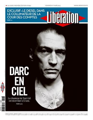 daniel darc,Libération,Darc en Ciel.Mort d'homme