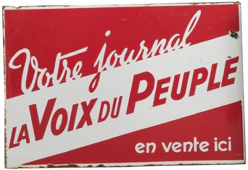 plaques émaillées,réclame,collection,brocante,presse,journaux,édition