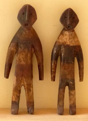 art premier, art populaire, statue bois, sculpture