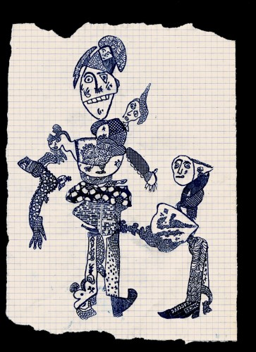 tampographe Sardon, tampon, graphiste, imagerie, art singulier
