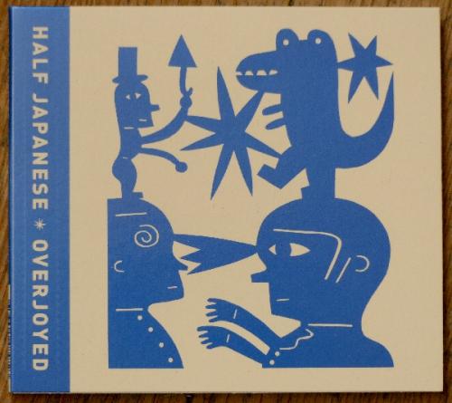Half Japanese,Jad Fair,Overjoyed,musique,papier découpé,art singulier,