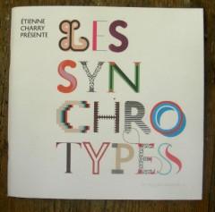 étienne Charry, musique, graphisme, Michel Gondry, les synchrotypes