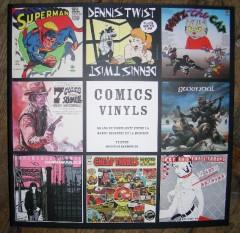 graphisme, disques vinyls, pochettes de disque